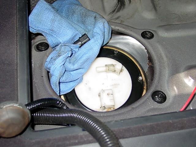 Fuel on 2003 Nissan 350z Fuel Filter