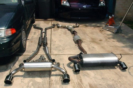 Image & Y-pipe - Nissan Forum   Nissan Forums